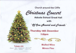 Church around the Cliffe Christmas Concert @ Adcote School Great Hall